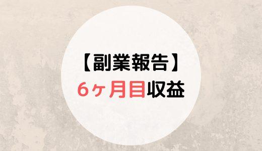 【6ヶ月目】元教員の副業収益報告